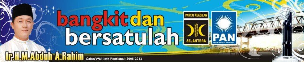 Bang Abduh Walikota Pontianak 2008