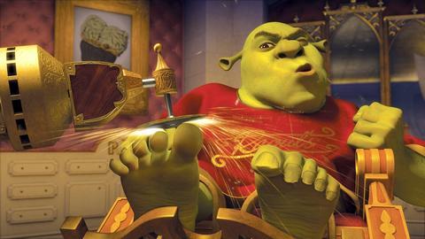 oUr bLaH bLaH bLoG...: I have Shrek feet.
