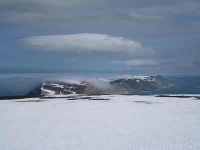 Utsikt nordover fra Iversen fjellet