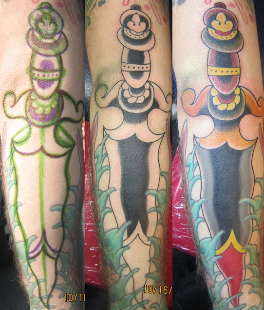 jacob doney: Anatomy of a dagger
