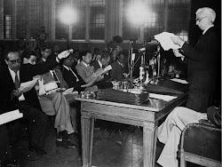 Russell Einstein Manifesto Press Conference, 1955