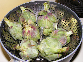 Baby Artichokes (Weekend Herb Blogging)