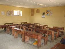 A classroom at a local public school that ICL would like to equip as a community resource centre...