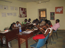 During one of our weekly youth volunteer meetings...