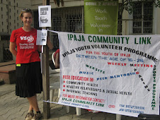 Jennifer, VSO Volunteer, during an event in Lagos to promote volunteering...