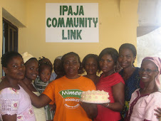 One of the cakes baked by the women on the skills acquisition programme...