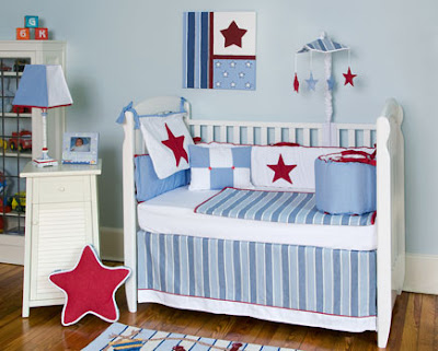 Camping Bedding  on Chesapeake Crib Set By Bebe Chic