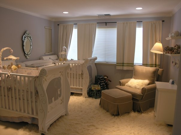 Harrison and Olivia's nursery