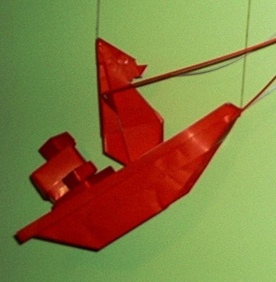 Cuentos De Papel Papa Noel Origami - Origami-papa-noel
