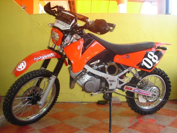 Foto Modifikasi Motor Trail  Oto Trendz