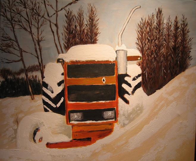Trateur son la neige