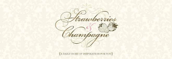 Strawberries and Champagne: Design