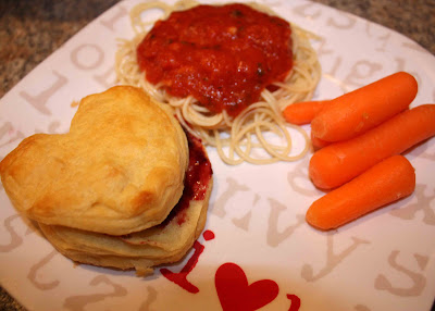 Gourmet mom on the go valentine mystery dinner for Simple valentines day dinner