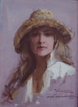Johanna Spinks By Everett Raymond Kinstler, N.A.