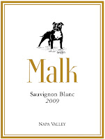 MALK+Griffin+WINE+LABEL+2009+SauvBlanc+Front USA, Sauvignon Blanc, Malk Family Vineyards, Napa, California, 2009
