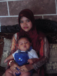 My wife & My son