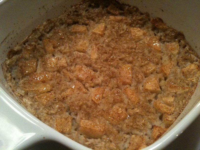 Mom Getting Fit: Baked Apple Pie Oatmeal