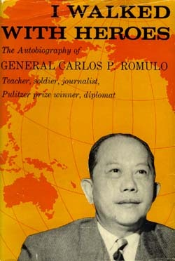who is carlos p. romulo essay Carlos peña romulo once wrote that each of his careers might have been lived in a different country and a different age soldier, journalist, educator, author, and.
