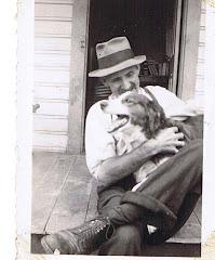 Grandpa and his collies