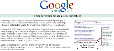 Image of Google Grants