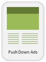 Icon for Push Down Ads