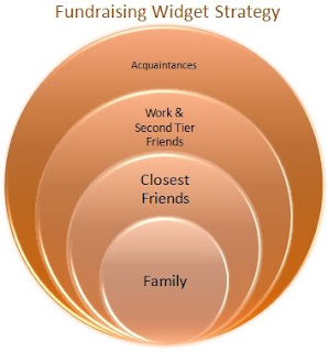 Model of Fundraising Widget Strategy