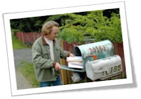Photo of Bill at his mailbox