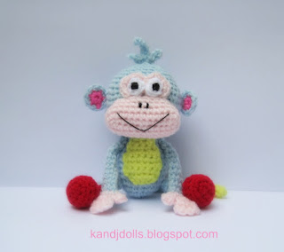 Crochet Patterns: Monkey - Free Crochet Patterns
