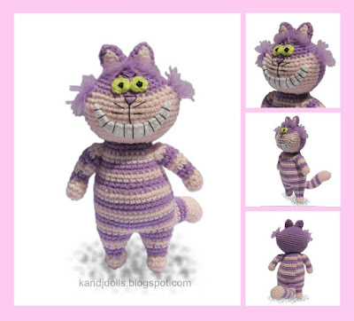 Amigurumi crochet patterns ~ K and J Dolls