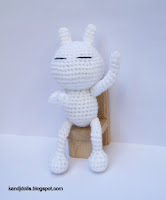 Tuzki free Amigurumi rabbit pattern