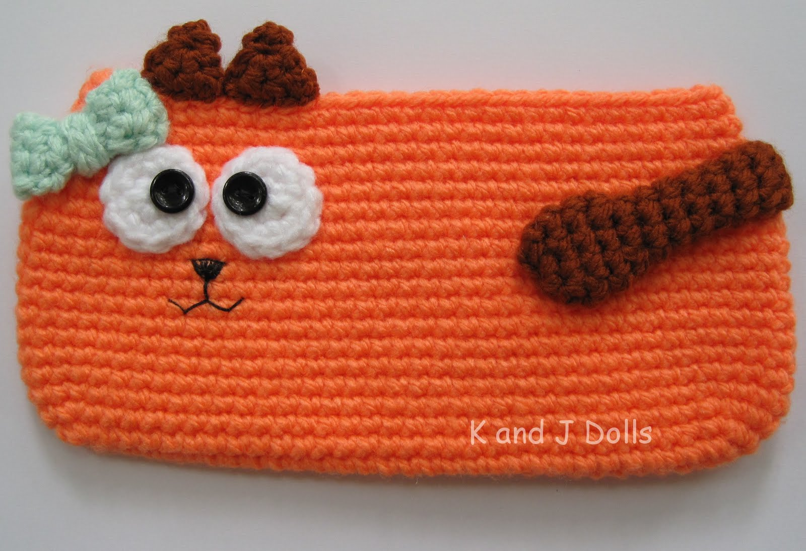Free Cat Schoolbag Crochet Pattern Amigurumi Patterns