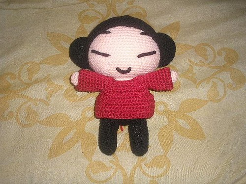 Crochet Pattern Human Doll : 2000 Free Amigurumi Patterns: Pucca doll