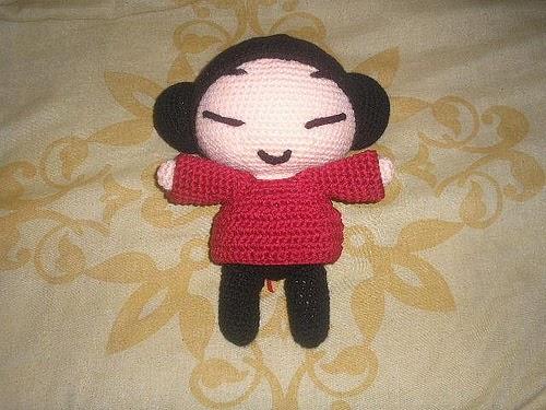 Amigurumi Human : 2000 Free Amigurumi Patterns: Pucca doll