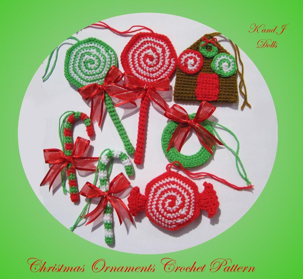 Crochet Free Patterns Christmas Ornaments : Christmas ornaments crochet pattern - Sayjai Amigurumi ...