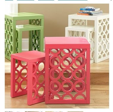 PB Teen Circolo nesting tables