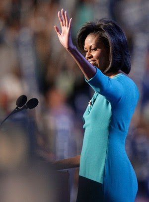 from Ean michelle obama with white dick in ass