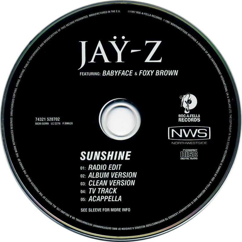 Jay Z Feat. Babyface U0026 Foxy Brown   Sunshine