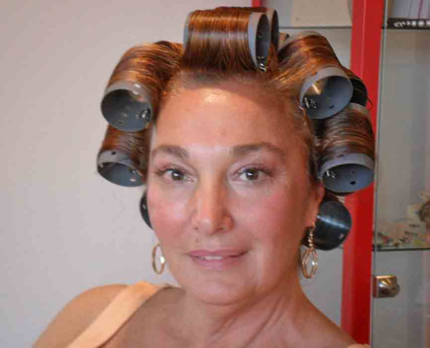 Roller Set in Hair Salon http://thelittlesalon.blogspot.com/2010/10/roller-sets-and-bigger-hair.html