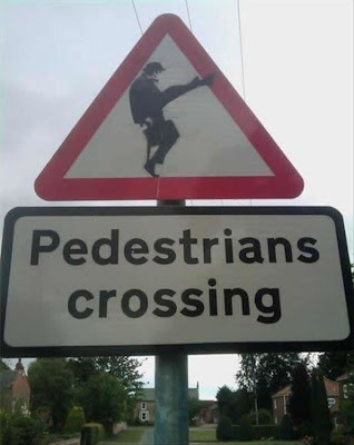 Silly Walks Crossing