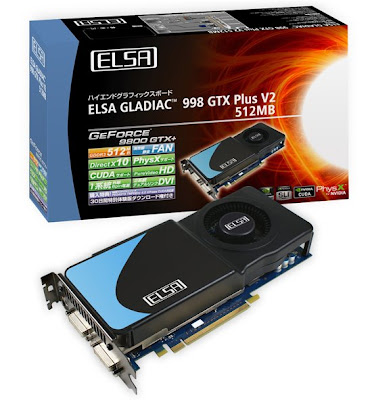 ELSA GLADIAC 998 GTX Plus V2 video card