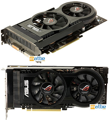 ASUS ROG EAH4870 MATRIX video card with black PCB and dual fan
