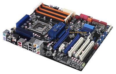 ASUS P6T mainboard for Intel Core i7 LGA1366 CPUs