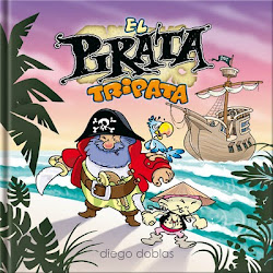 """""""EL PIRATA TRIPATA"""" Escrito e Ilustrado por Diego Doblas"""