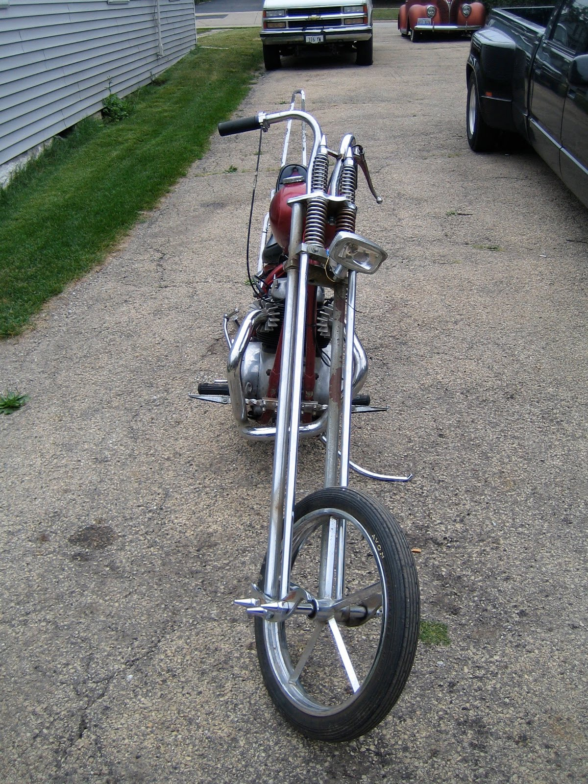 1966 Bsa Chopper Runs And Rides Great Built In The 70 S Call Kyle 847