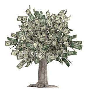 Картинка. Деньги дерево
