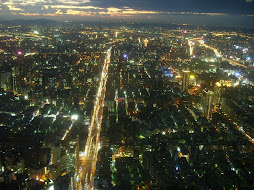 Taipei from the top of  101