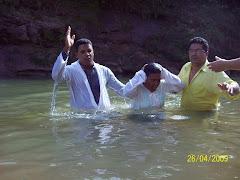 Batismo de alguns Irmãos