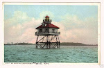 Choctow Point Lighthouse Mobile Alabama