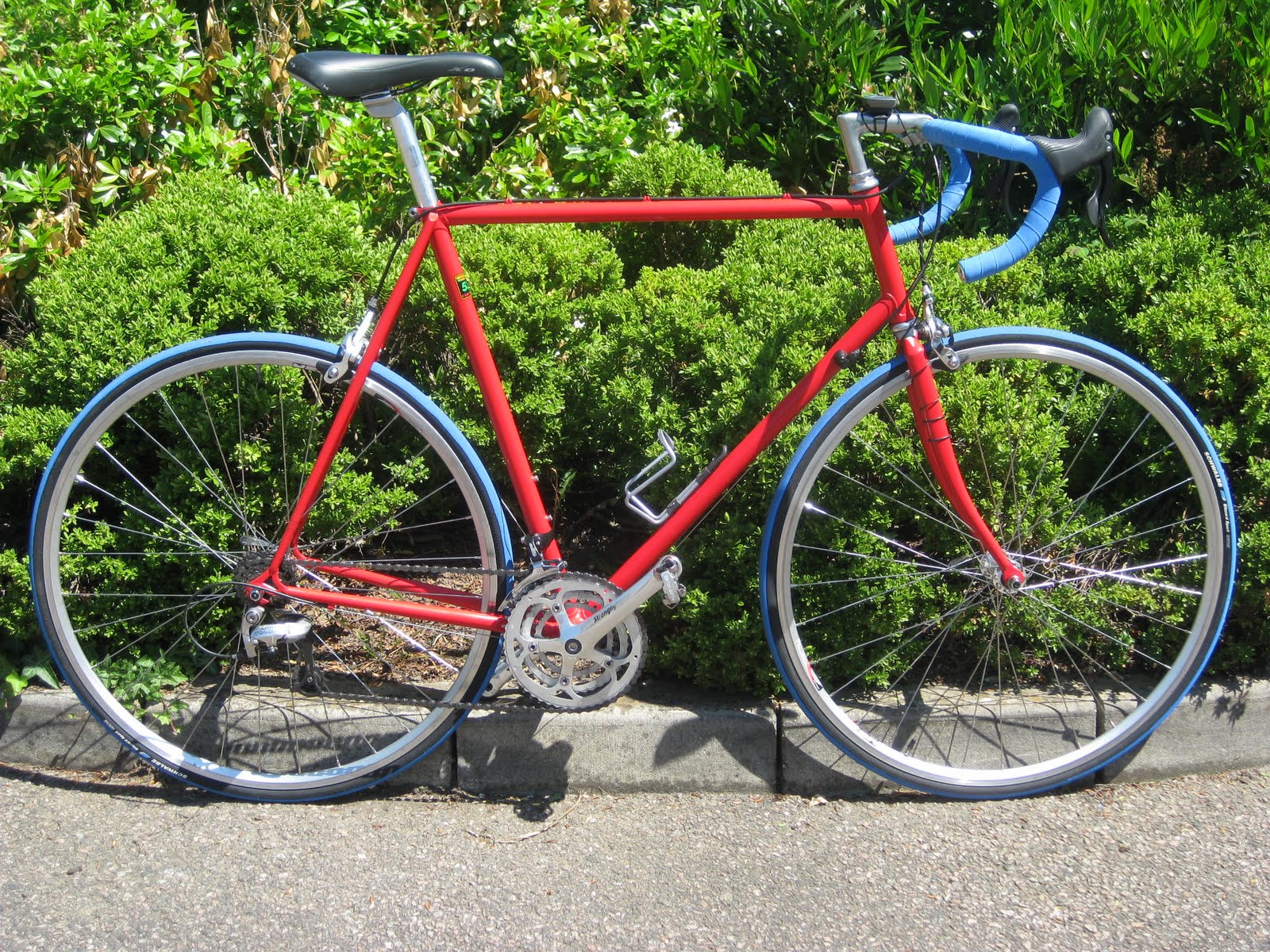 Chuck Glider\'s Bicycle Workshop: Shimergo Reynolds 531C road bike