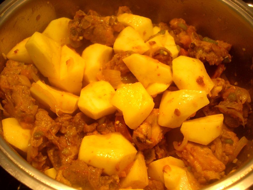 El sabor de lo salado patatas a la riojana - Tiempo para cocer patatas ...
